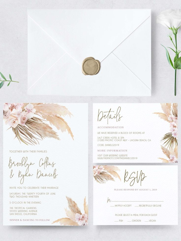 Bohemian Wedding Invitations Wedding Favors Wedding Invitation Sets Wedding Invitation Design Wedding Invitations Boho