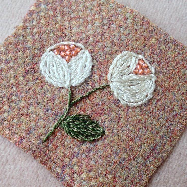 Have a fun holiday⭐️ #handmade #手作 #手工 #刺绣 #DIY #embroidery #ハンドメイド #art #broderie #вышивка