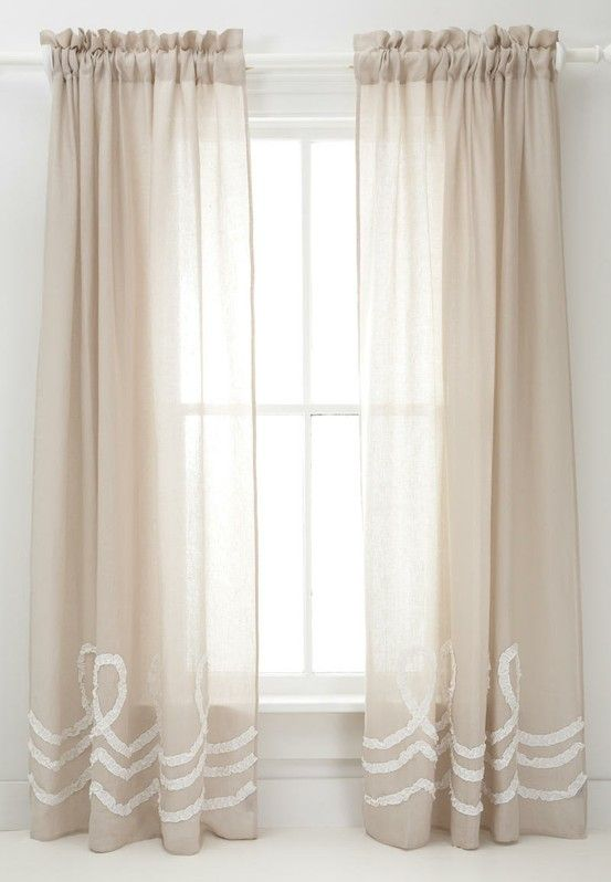 Sheer Curtains · Pine Cone ...