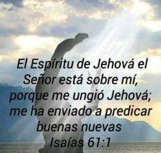ISAIAS 61:1 Me haz enviado...