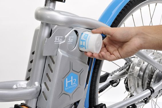 Gitane Alterbike mit Wasserstoff-Kartusche / Foto: Gitane