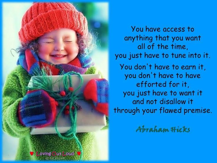 It's natural for me to thrive! Abraham Hicks