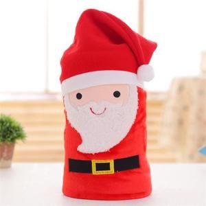 COUVERTURE - PLAID Couverture souple flanelle joyeux Noël de petit so