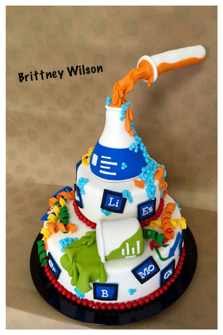 Best 20 Chemistry Cake Ideas On Pinterest