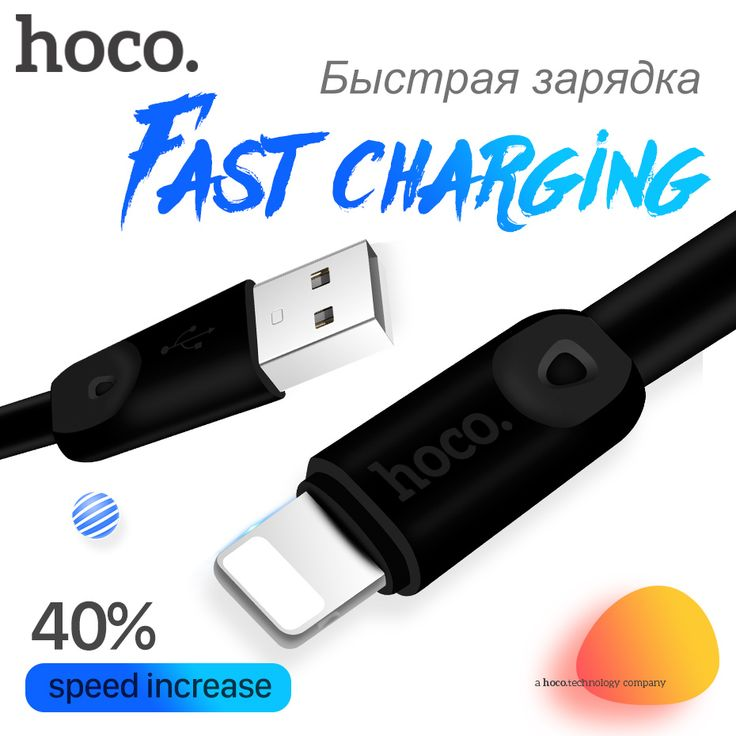 HOCO 2.4A USB Cable for Apple Lightning iPhone iPad 8pin OTG Fast Charging Original Charger Wire Data Sync Transfer //Price: $6.55//     #shop