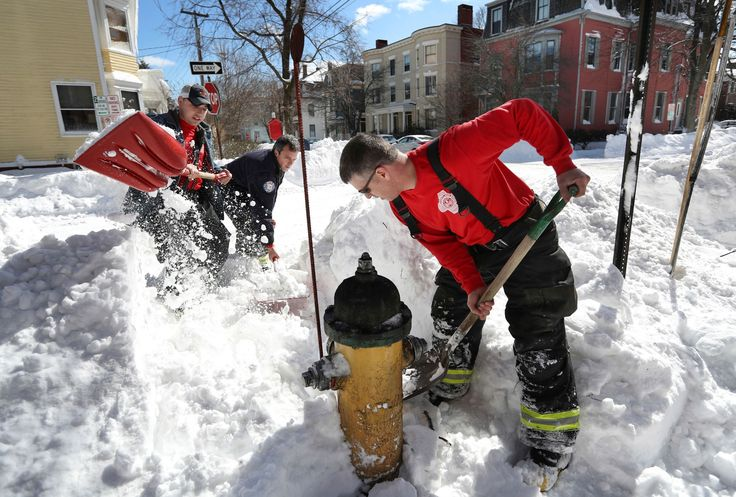 The Northeast was in dig-out mode Wednesday, a day after a treacherous storm packing strong winds and accompanying plummeting temperatures left some residents dealing with rock-hard ice and others with more than 2 feet of snow. The upshot: a late-season boost to the region's ski areas.