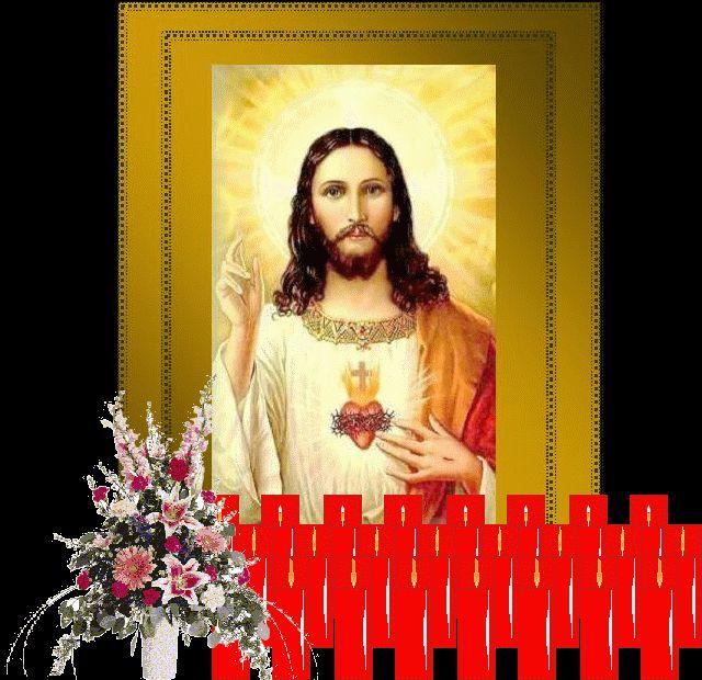 IMAGENES RELIGIOSAS: Sagrado Corazón de Jesús