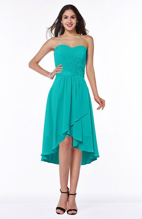 Elegant A-line Strapless Sleeveless Ruching Plus Size Bridesmaid Dresses