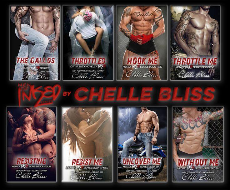 Author Chelle Bliss - Men of Inked Series  http://chellebliss.com/