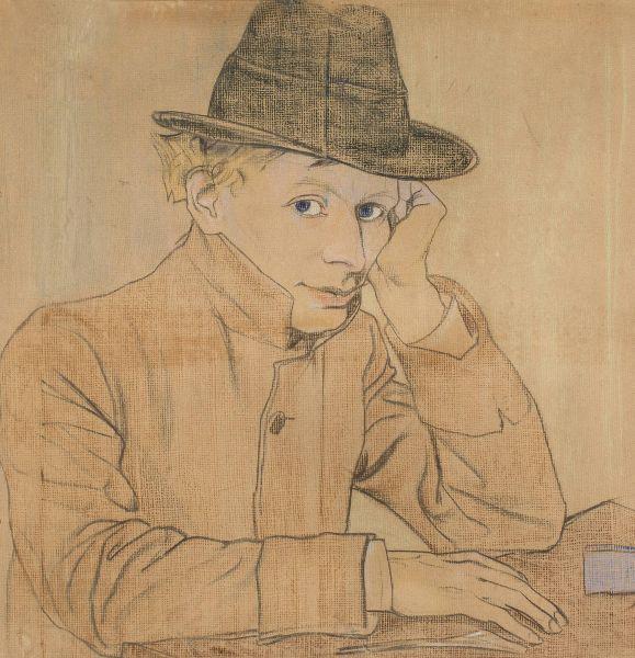 Portret Adolfa Nowaczyńskiego - Stanisław Wyspiański