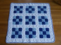 Ravelry: Baby Nine Patch Crochet Quilt pattern by Melanie Henderson