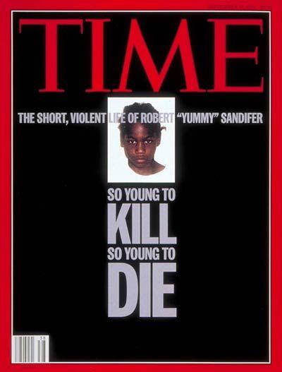 Robert (Yummy) Sandifer | Sep. 19, 1994 Mug shot of Robert 'Yummy' Sandifer