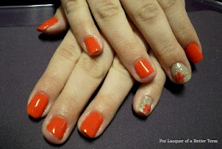 Gelish designs-- tricky, but worth it =D