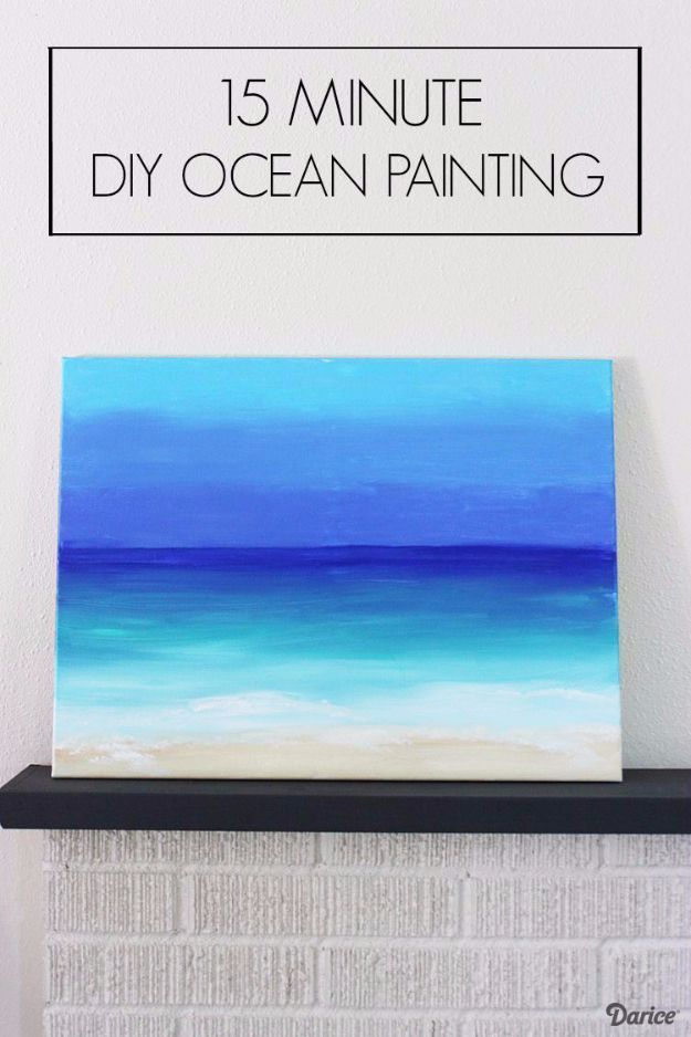 36 DIY Canvas Painting Ideas Art For Living RoomEasy