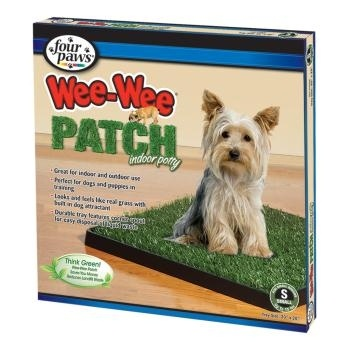 Four Paws Wee Wee Patch Indoor Dog Potty has a plastic grass patch that has. 1000  ideas about Indoor Dog Potty on Pinterest   Fun sites  Dog