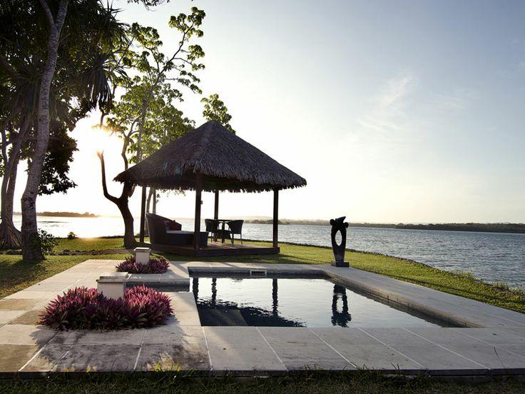 Jacuzzi with a view. Eratap Beach Resort, Vanuatu