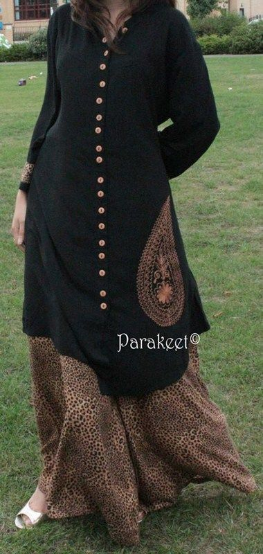 Parakeet Fall Dresses 2013 By Anjum Zehra 006