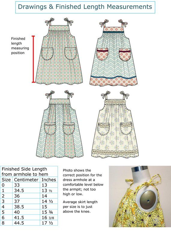 ef7ab690a06d Girls sundress pdf sewing pattern Daisy Sundress baby
