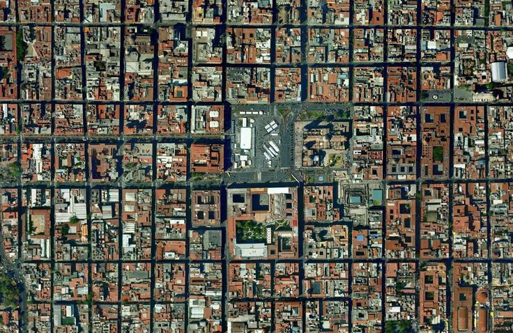 Urban Morphology in Mexico City