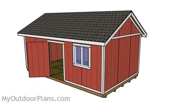 12x20 Shed Plans | Free Outdoor Plans - DIY Shed, Wooden Playhouse, Bbq…
