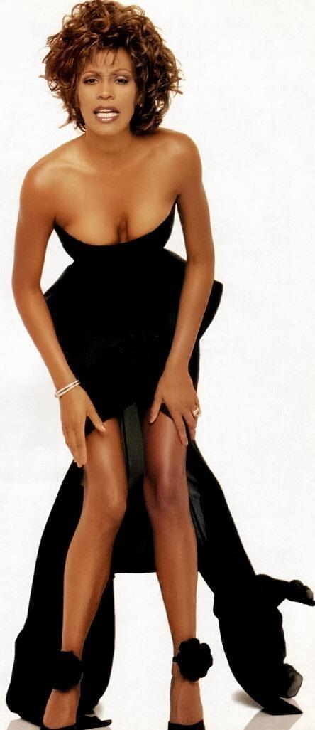Whitney houston naked breast