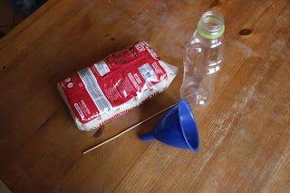 Ania mama Agnieszki: Jak podnieść butelkę za pomocą ryżu i patyczka?