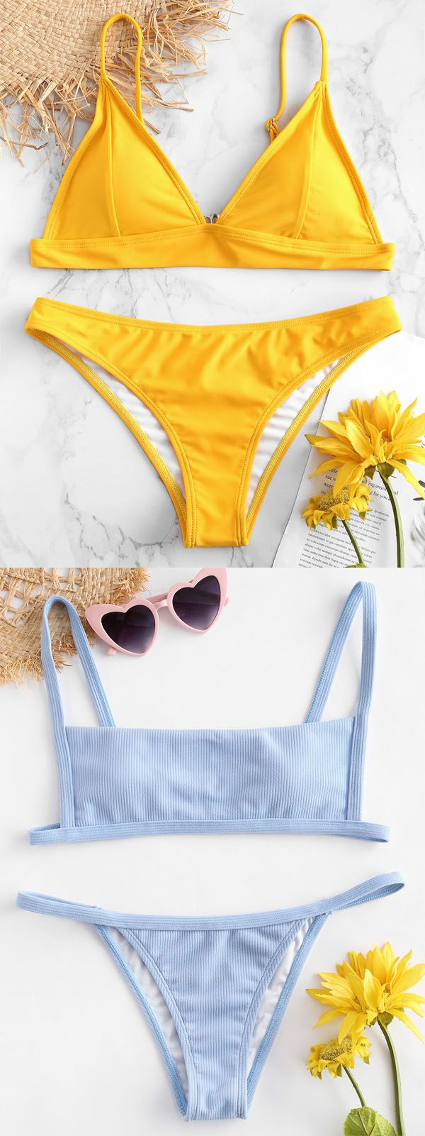 ZAFUL NEW FASHION Chic swimwear from $3.99 APP conclusive more discount!#ZAFUL#BIKINI