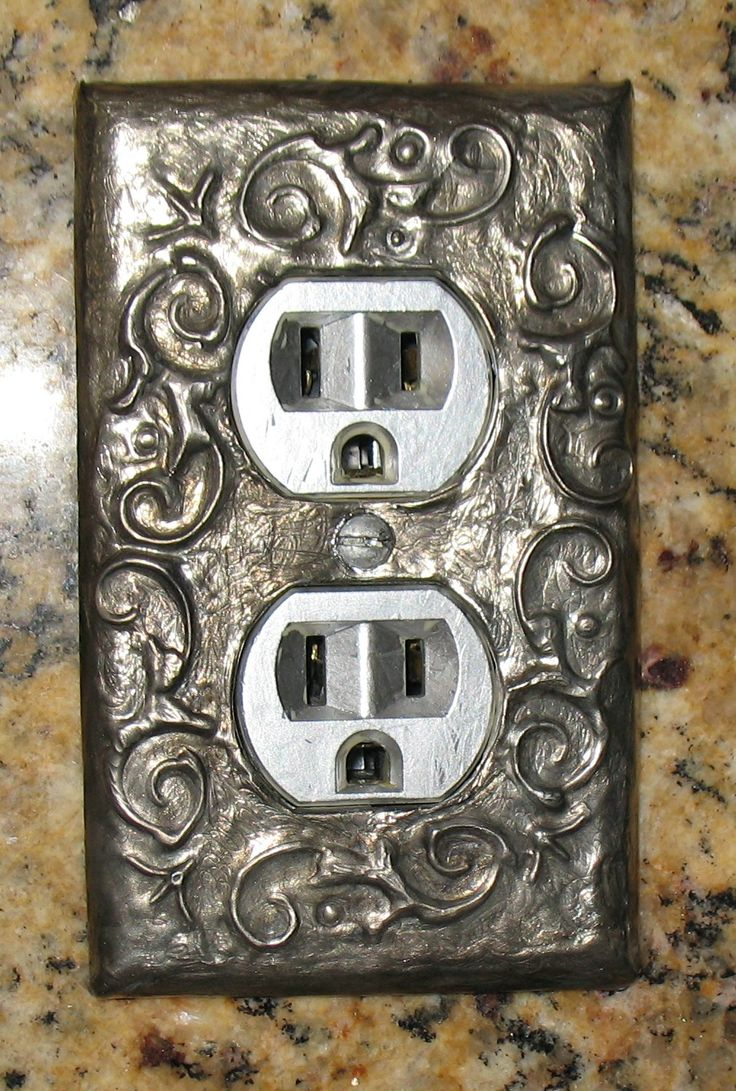 Arts and crafts switch plate covers - Pewter Light Switch Covers Pewter Artpewter Metalmetal Embossingoutlet