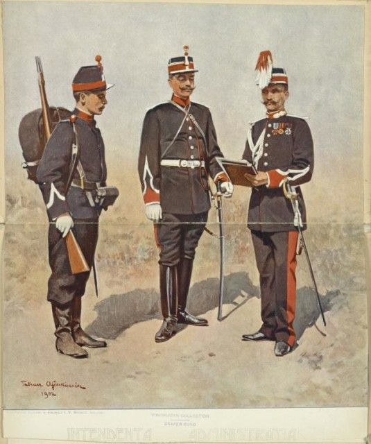 Romanian military uniforms 1881 – 1895, they were not so different from those…
