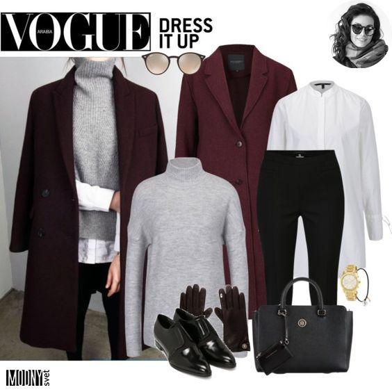 Oblečená tip top v jednoduchom elegantnom a trendy outfite. Tento rozhodne  spĺňa všetko čo potrebujete. Rovné strihy pôsobia veľmi štýlovo a uhladene. e6bc564835b