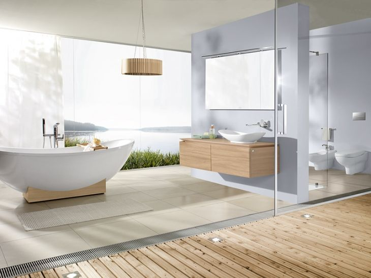 117 best Bathroom images on Pinterest Bathroom, Modern bathroom - villeroy boch badezimmer