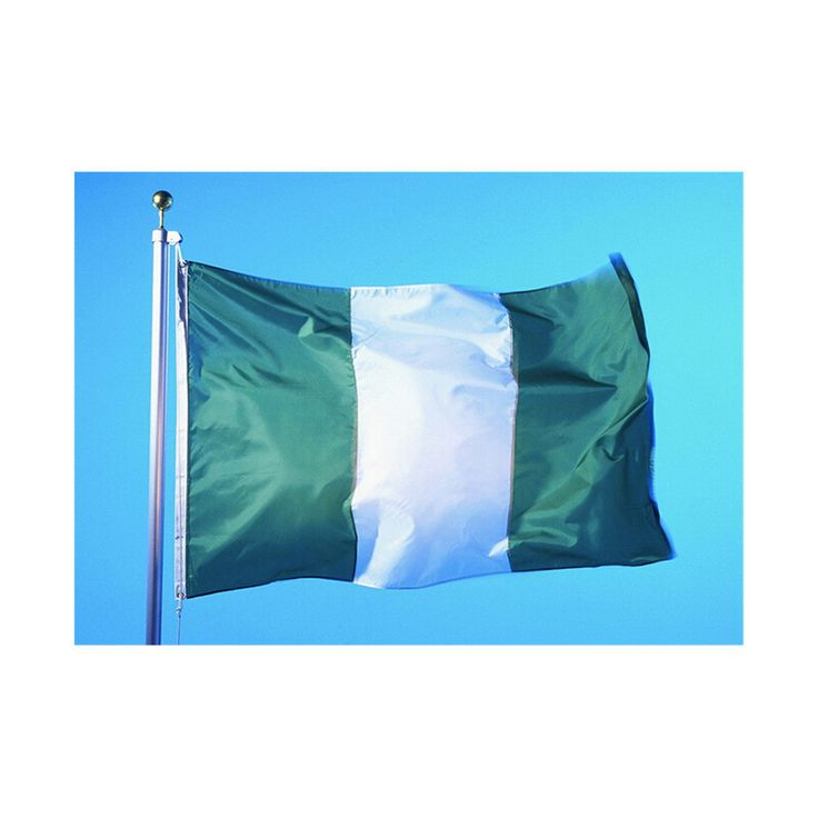 160 * 240 cm flag Various countries in the world Polyester banner flag Nigeria