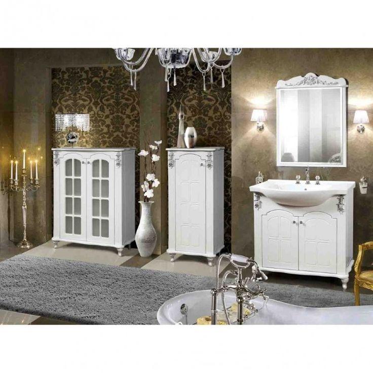 купить Мебель для ванной комнаты Версаль КМК 0454 Белый глянец  КМК, Белоруссия