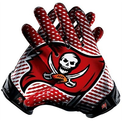 Nike Tampa Bay Buccaneers Vapor Jet 2.0 Team Authentic Series Gloves