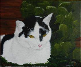 haft cieniowany, haft płaski, haft pełny, haftowany kot, haftowany tygrys, long and short stitch embroidery, cat embroidery, fotografia przyrodnicza