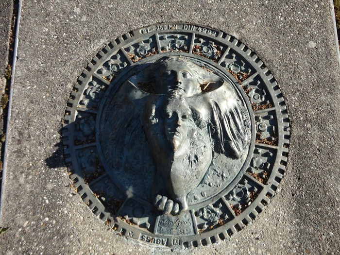 Best images about decorative manhole covers on