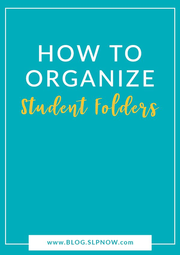Keeping track of therapy activities, student work, and data is easier said than done! Student folders are a great way to keep track of it all! Learn how to set up and organize your student folders here.