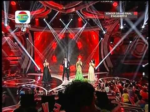 Theme Song Dangdut Academy @ Grand Final Dangdut Academy 2 Evi, Danang &...