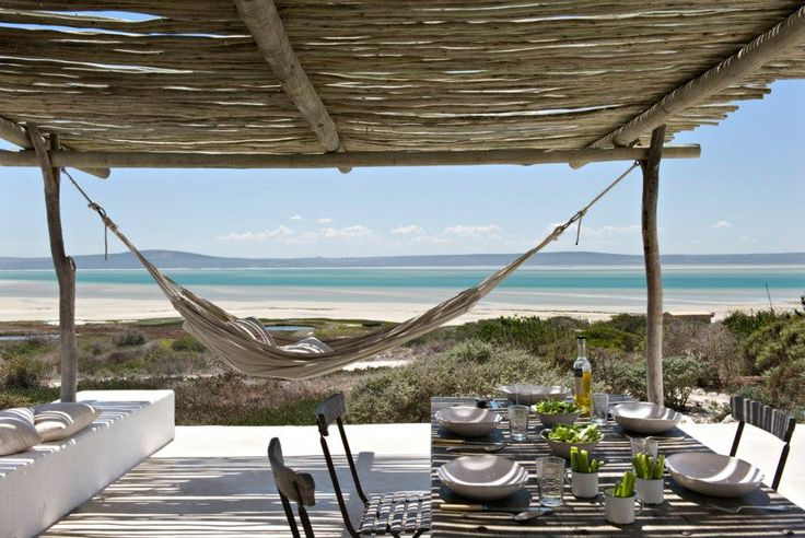 Beach house in South Africa back porch