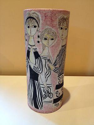 Vintage Marcello Fantoni Italy Raymor Vase Gambone Bitossi Aldo Londi