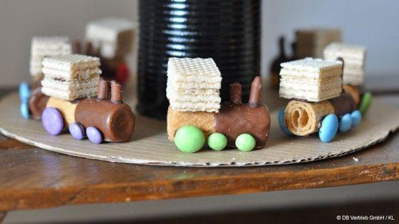 DIY-Ideen für einen Kindergeburtstag mit Eisenbahn-Motto / DIY-inspiration for a train themed birthday party