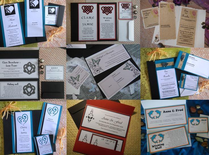 DLE sized wedding invitations