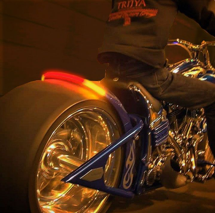 The 48 best motorcycle led lights images on pinterest lights trijya on the road with radiantz led light bar with turn signals and brake in one aloadofball Choice Image