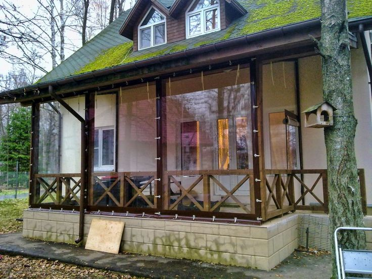 Шторы для веранды, шторы для террассы (мягкие окна) из ПВХ купить на заказ - АСК-Групп