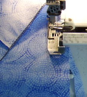 Serger Sewing and Cutting abilities photo