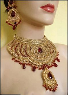 Indian Bridal Jewelry Sets With Pearls