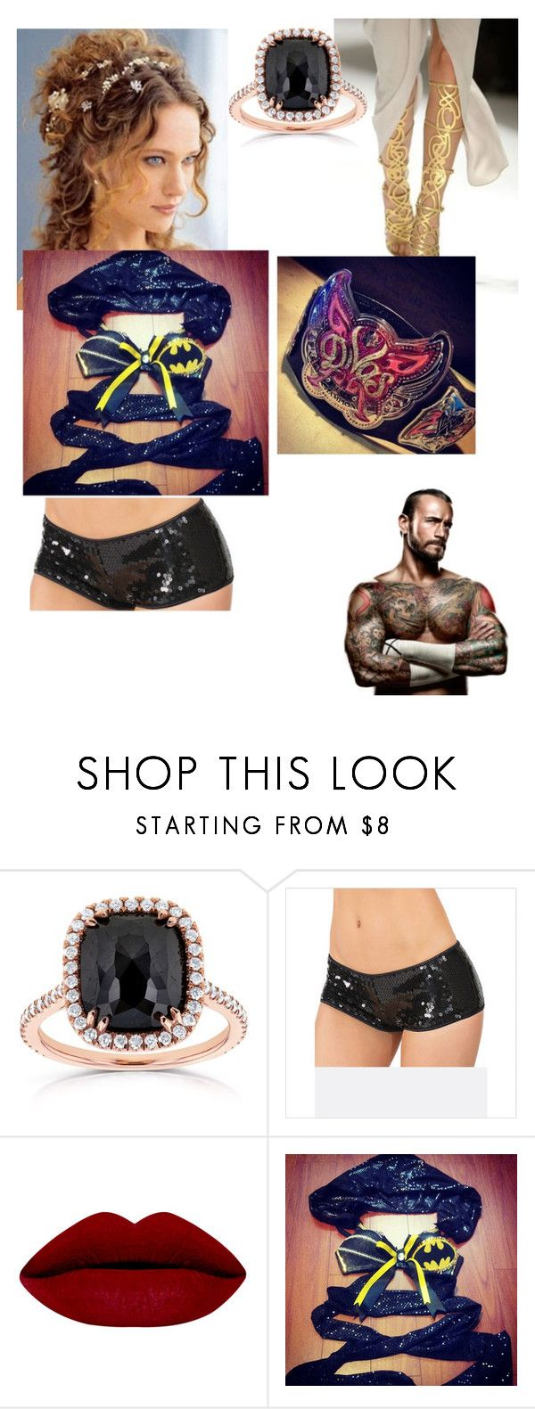 """cm punk wife"" by donald3600 ❤ liked on Polyvore featuring Kobelli, Champion and Brooks"