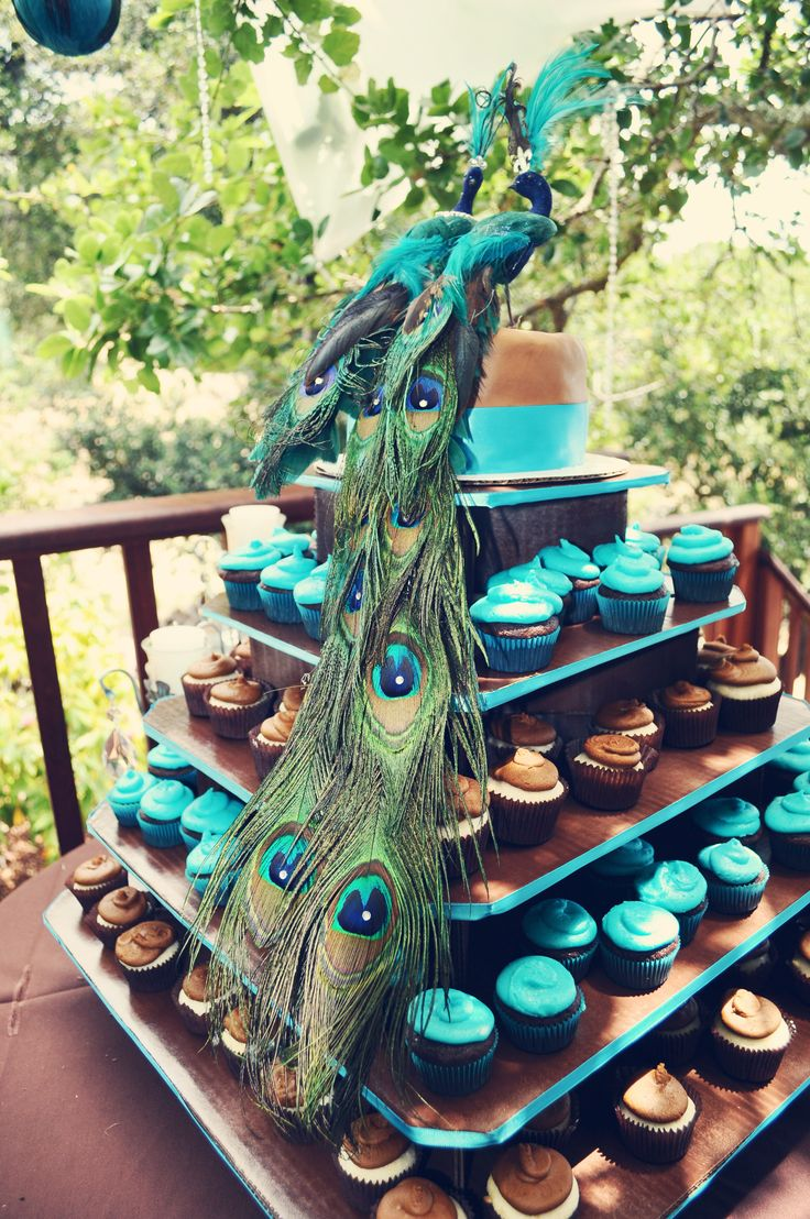 156 Best PEACOCK WEDDING DECOR Images On Pinterest