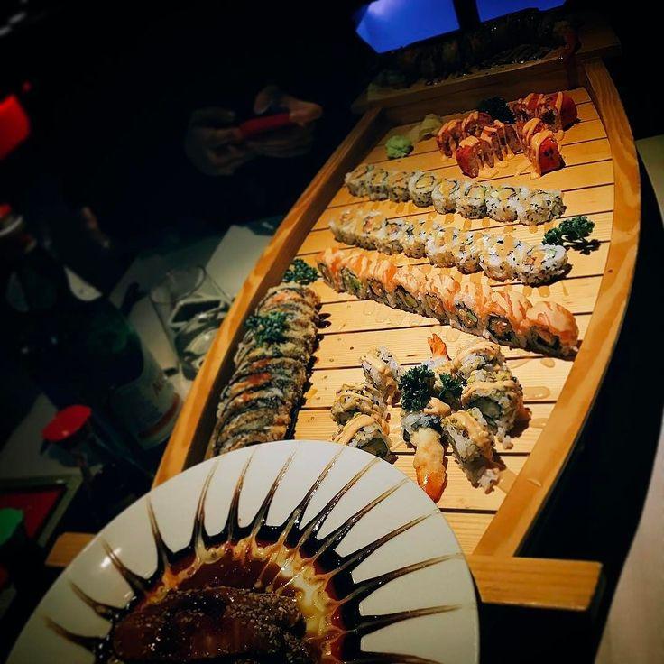 When in Genova..  #sushi #kobe #koberestaurant #genua #genova #italy #cosy #food #love #work #dyjcode #instagood #igers