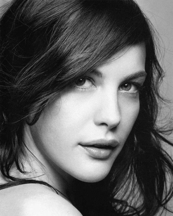Liv Tyler. I think she is the most beautiful woman, ever. Period. She is my idol. I love her.